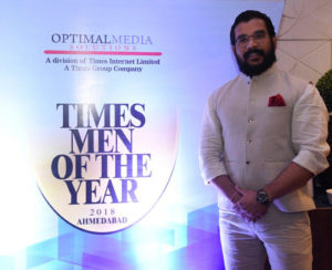 "CEO, Mr. Mehul Panchal is now ""Times Man of the year 2018"""
