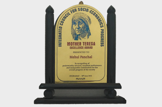 Mother Teresa Excellence Award-2012