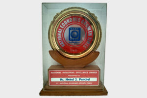 National industrial Excellence Award-2012